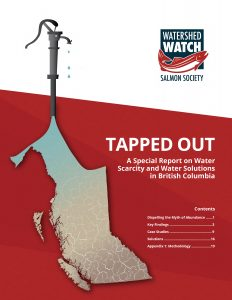 Cover of Tapped Out Report