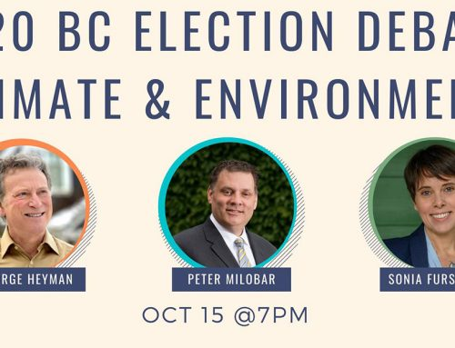 Watch the 2020 BC Climate & Environment Debate