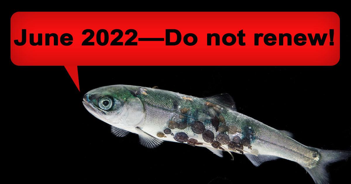 June 2022 - do not renew