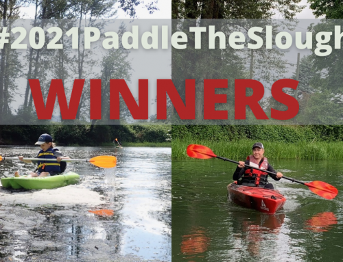 Announcing the winners of our #2021PaddletheSlough challenge