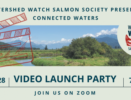 Join us for the LIVE premiere of our Connected Waters video!