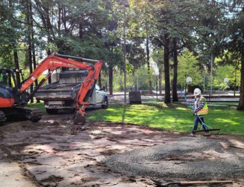 Coquitlam breaks ground on a new rain garden